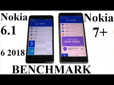 Nokia 7 Plus vs Nokia 6.1 2018 - BENCHMARK COMPARISON