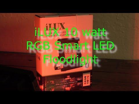 iLUX 10 Watt LED Smart Light Indoor Outdoor Floodlight