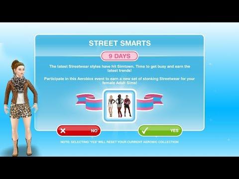 Simsfreeplay - Street Smarts Aerobics Hobby Event