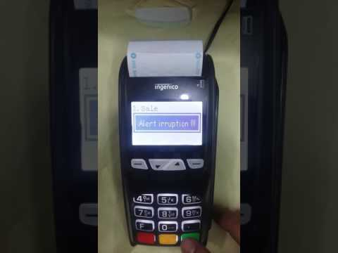 How to solve POS Swipe Machine Alert IRRUPTION !!! Problem?