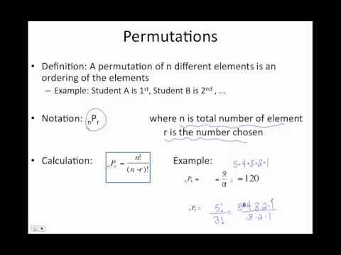 9.6 9.7 Counting Principle