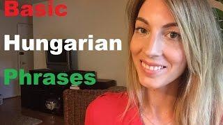 Basic Hungarian Phrases