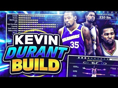 THE BEST BUILD ON 2K18! EXACT REPLICA OF KEVIN DURANT! NBA 2K18