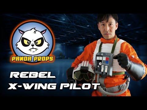 X-wing Pilot costume showcase