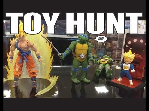 Toy Hunt 1-16-18 Hunting For Shenron And Power of The Primes