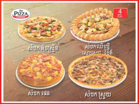 TVC of The Pizza Company Cambodia