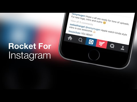 iOS 9 Cydia Tweaks: Rocket For Instagram - Promote Your Photos + Tons Of Other Features