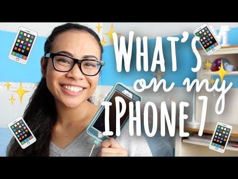 2017 What's on my iPhone 7? | SimplyMaci