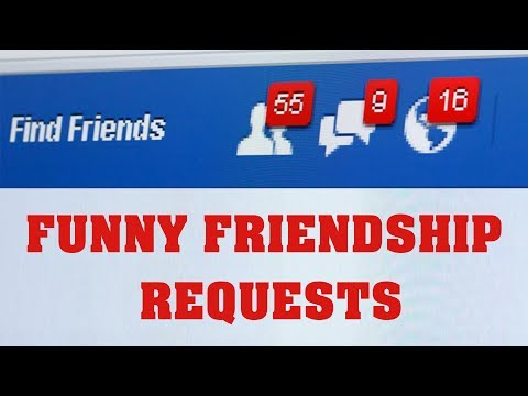 Funny Crazy Friendship Request Messages