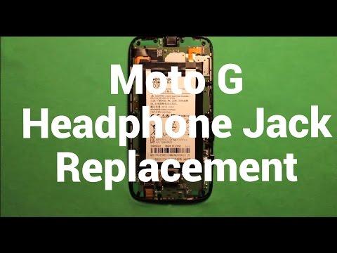 Moto G Headphone Audio Jack Replacement How To Change
