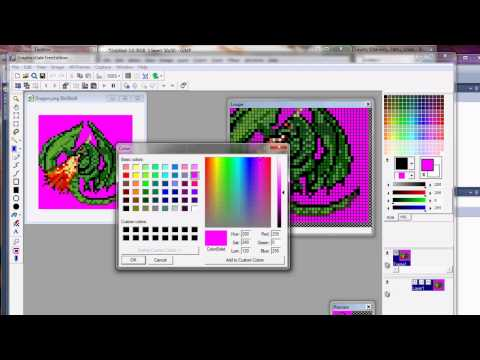 Quick Tip - Sprites - Selecting a Transparent Mask Color in Gimp and Other Graphics Applications
