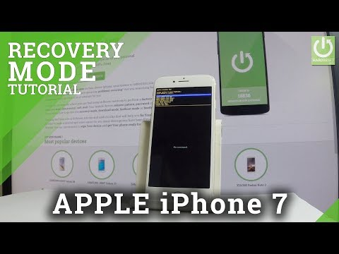 Android Recovery Mode in Fake iPhone 7 - Chinese iPhone Recovery