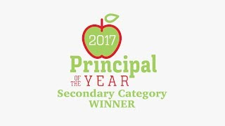 2017 Dallas ISD Principal of the Year-Secondary Category