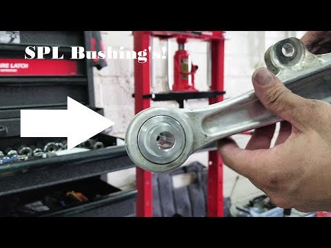 Episode 3, 350Z Front Lower Control Arm Bushing Install, 350Z Front Bushings