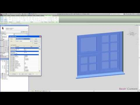 Revit Content: All-in-One Revit Window Family