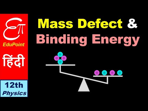 🔴 MASS DEFECT and BINDING ENERGY || in Hindi
