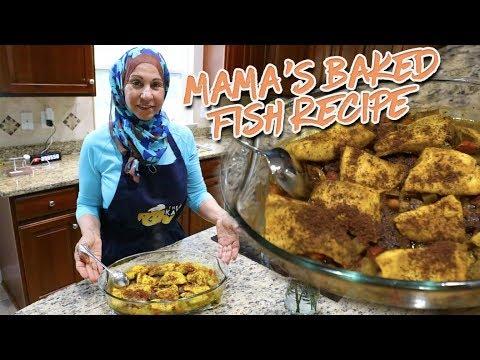 Mamas Baked Fish Recipe!