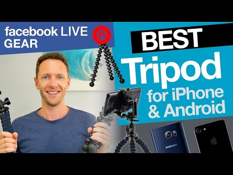 Facebook Live Stream Gear: Best Tripod for iPhone & Android!