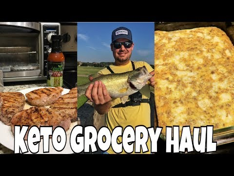 Keto Grocery Haul | How I Track Macros for Recipes I Easy Breakfast Casserole
