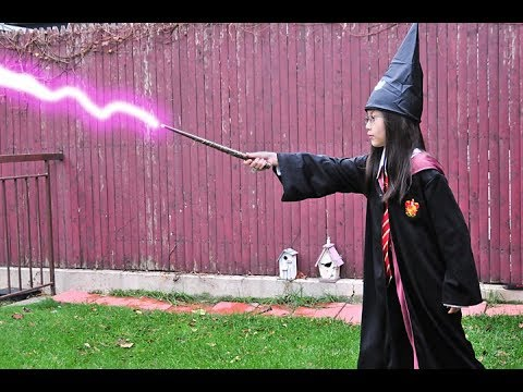 How to make Universal Harry Potter interactive wands work at home