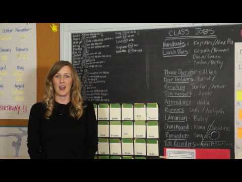 """""""Real World"""" Class Jobs: Sharing Responsibility in the Classroom (Virtual Tour)"""