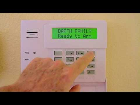 How To Change Master Code On Most Ademco, Honeywell or First Alert Alarm Security System