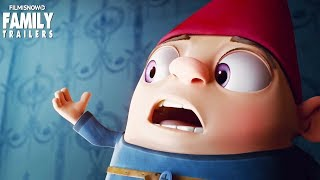 GNOME ALONE   Trailer for family animated movie with Becky G & Josh Peck
