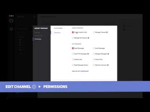 Make an Admin, Mod, and Private Channel with Discord Permissions