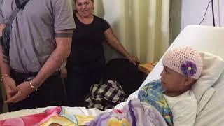 Cnco cumplió el sueño de esta niña con cáncer y como lo se por q esa niña es mi hija ficticia