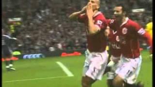 Goal Rio Ferdinand Vs Liverpool