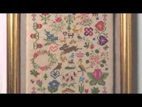 Cross Stitch Antique Style Samplers by Jane Greenoff