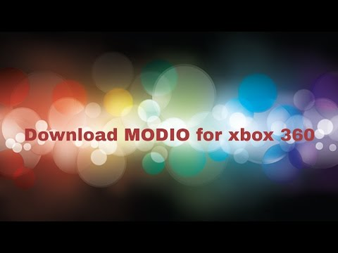 DOWNLOAD MODIO FOR XBOX 360 GAMES