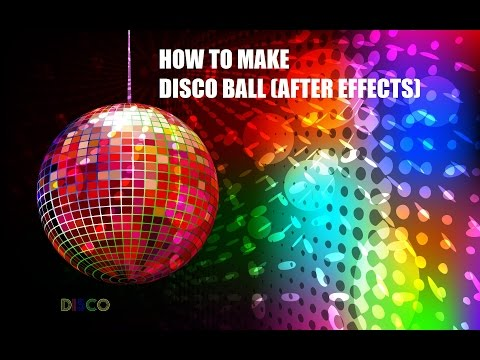 [Tutorial] How To Make Disco Ball (After Effects)