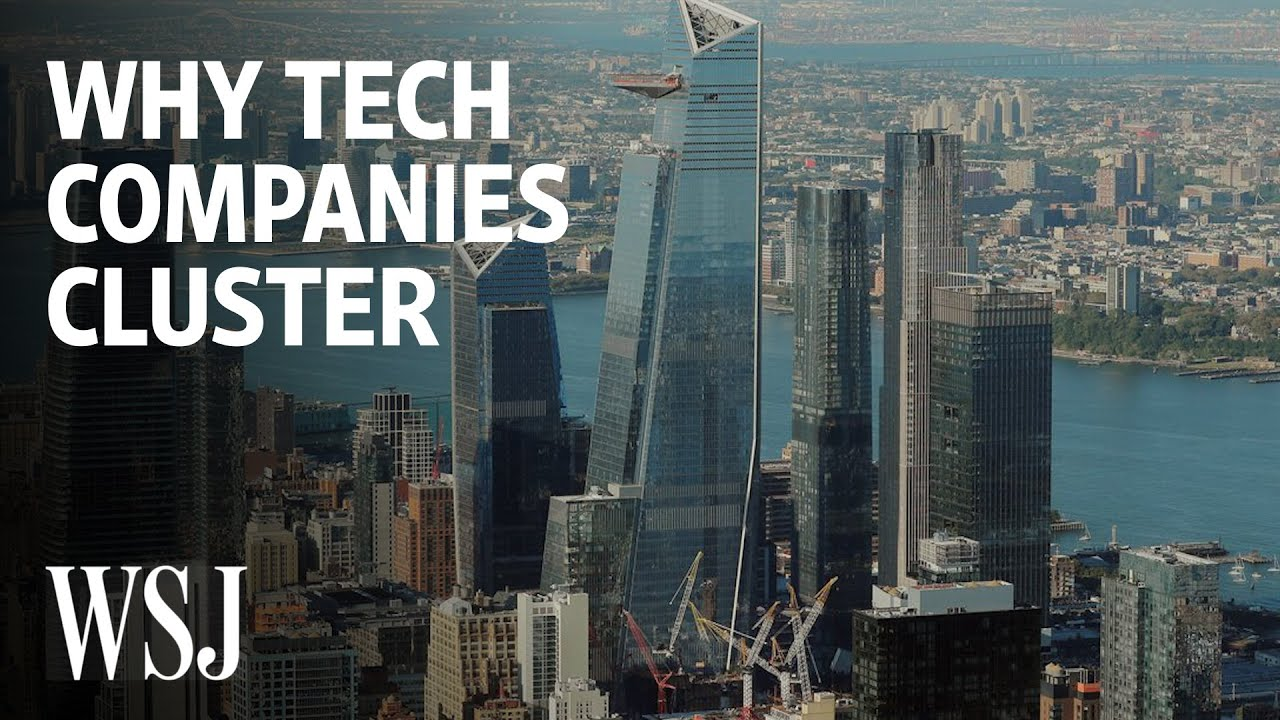 Why Tech Firms Flock to Expensive Cities | WSJ
