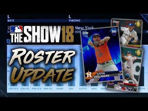 Verlander to Diamond! MLB The Show 18 Diamond Dynasty Roster Update