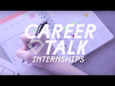 Career Talk: How to Get an Internship feat. The Intern Queen