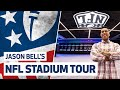 NFL STADIUM TOUR Jason Bell Tours Tottenham Hotspur Stadium39s NFL Facilities