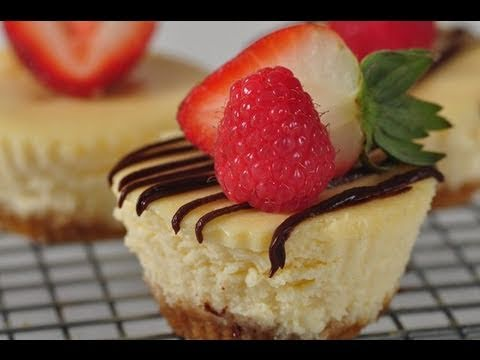 Individual Cheesecakes Recipe Demonstration - Joyofbaking.com