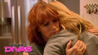 Natalya gets upsetting news from her mother: Total Divas Preview Clip, July 14, 2015