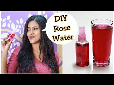 DIY : How To Make Rose Water At Home