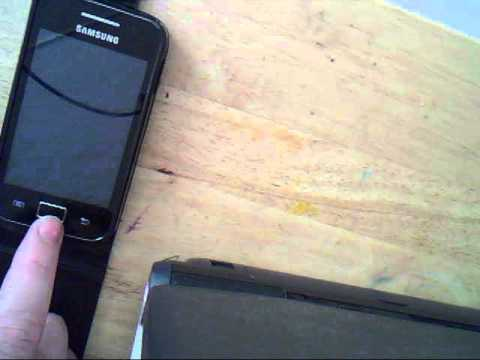 Take a screenshot on Samsung Galaxy Ace No Root Needed! (very very easy)