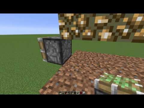 Minecraft Tutorial -  Fully Auto Melon Farm