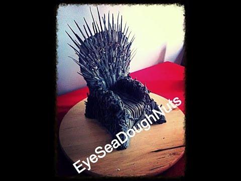 EyeSeaDoughNuts - The Iron Throne, CAKE