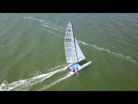Dji Mavic Pro Active Track Test - Texas City Sailing