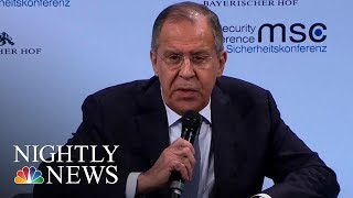 Russians Say Evidence of Election Interference is 'Blabber' | NBC Nightly News