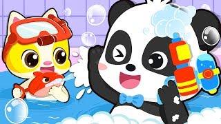 Bath Song | Baby Bath Time | Nursery Rhymes | Kids Songs | Kids Cartoon | Baby Videos | BabyBus
