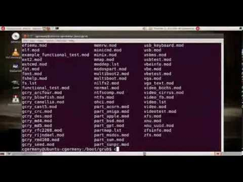 How to configure Grub 2 Boot Loader and Setup Triple Boot - Session 1