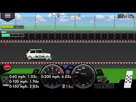 Pixel Car Racer: Mini Standing Mile.