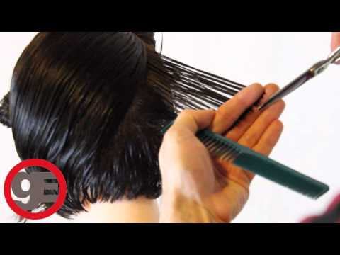 BOB HAIRCUT with graduation - How To Cut Graduated Bob Haircut Step By Step - Classic Graduation