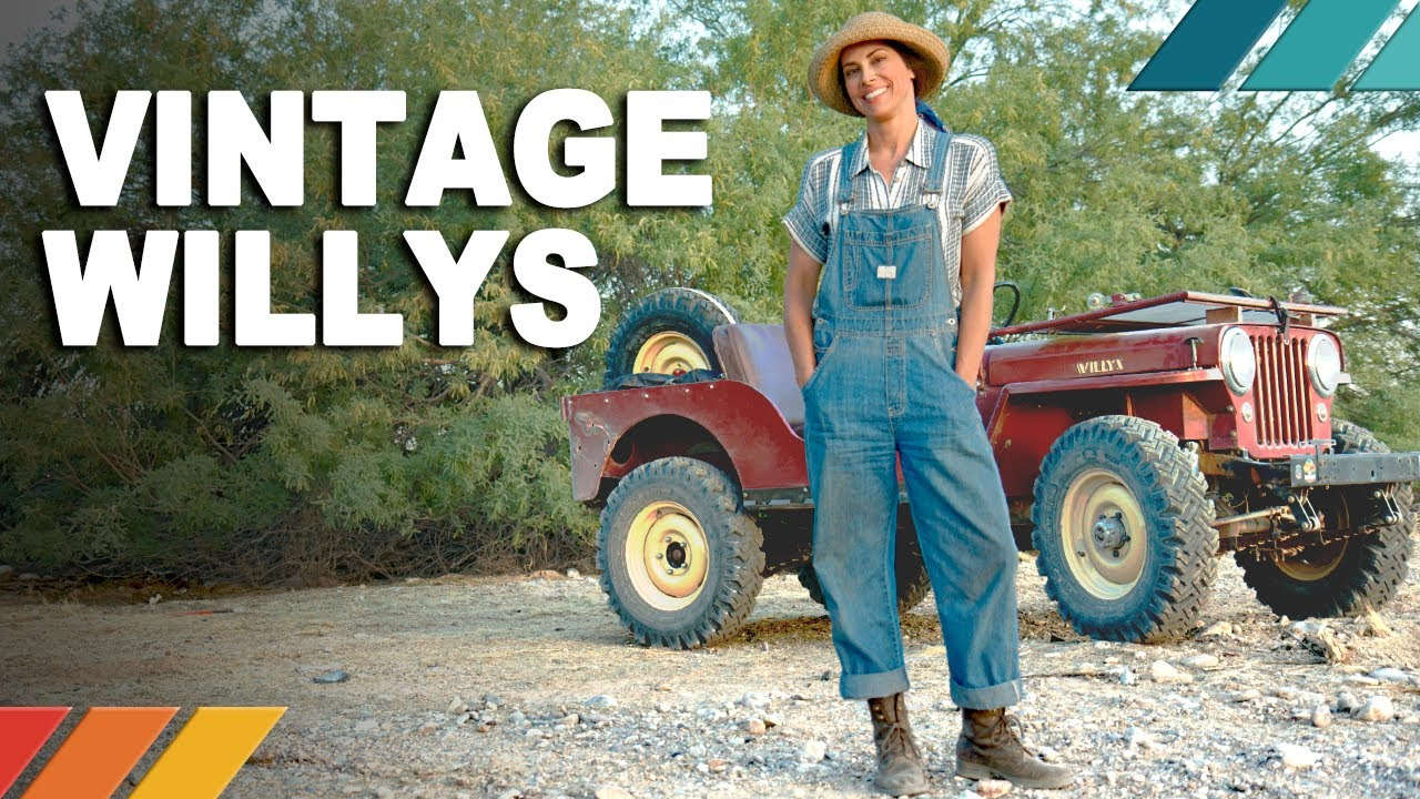 VINTAGE WILLYS: Trail Wheeling 70-Year-Old Flat Fender Jeeps   Nicole Johnson's Detour EP5